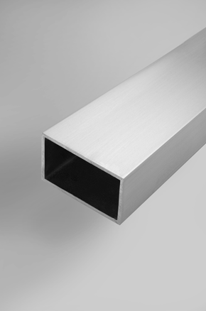 Extruded Tube - Square and Rectangular with Square Corners